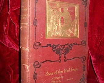 """1905 1ST Edition Book of """"SONS OF The RAIL"""" By M.B. De Courcy with Illustrations"""