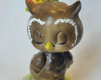 Free shipping-Josef Originals-Owl-Bobblehead called Dreamin' Of You with (145)