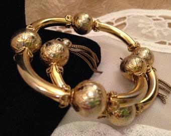 MARIAM HASKELL Vintage Tassel Bracelet