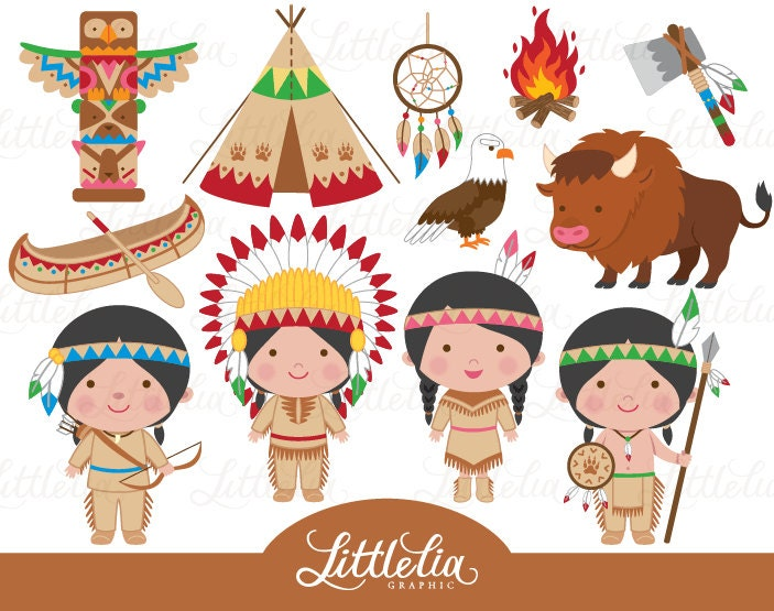 Indian clipart native america clipart cowboy clipart