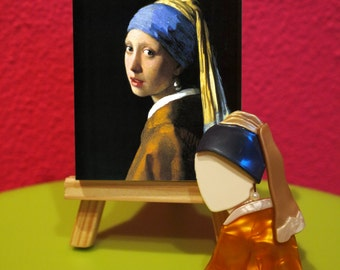 Girl with a Pearl Earring Brooch
