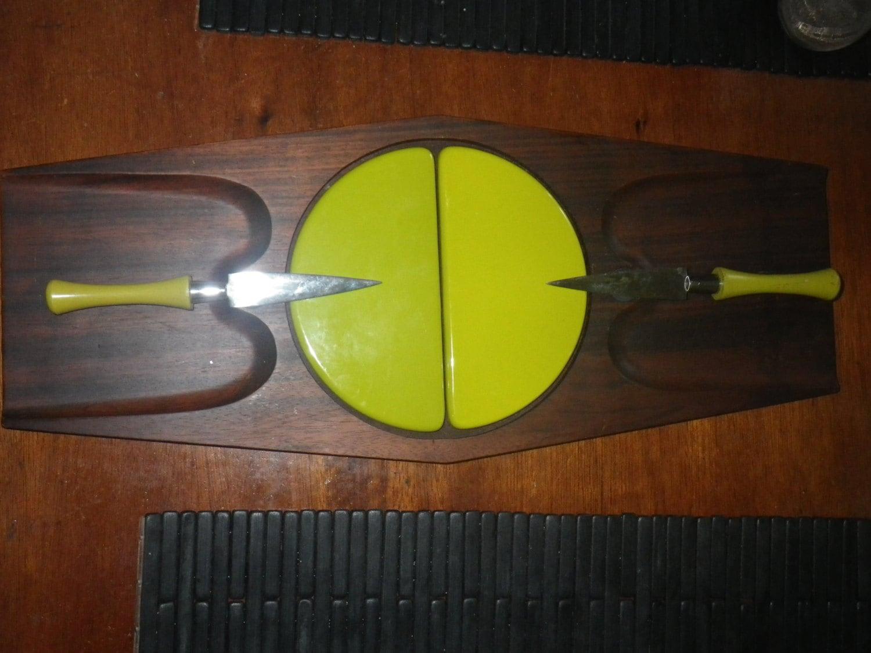 Mid Century Modern Cutting Board Sere Wood Mid Century Modern