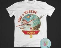 Disney Planes Fire & Rescue T-Shirt Iron-On Design (PRINTABLE)