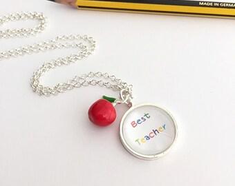 Best Teacher Necklace