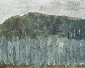 Trees, painting