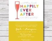 printable wedding brunch / morning after brunch / newlywed brunch invitation