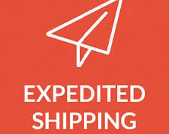 EXPIDITED PRIORITY 2-3 Day USPS Shipping