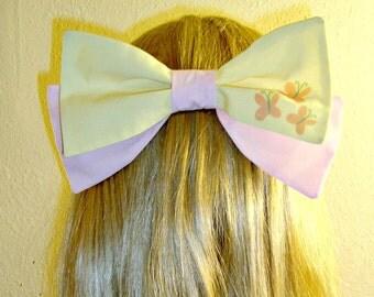 Fluttershy Hair Bow Tie My Little Pony Cutie Mark Barrette