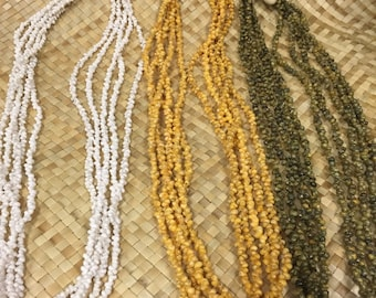 Hanging Mongo shell Lei - 5 strands