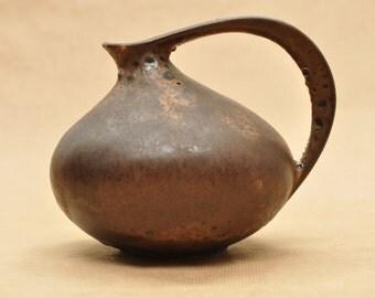 Ruscha 313 vase - Kurt Tschöner - West-german pottery - fat lava pitchter