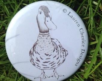 Mr Duck Pocket Mirror (58mm)