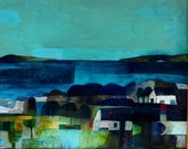 Blackwaterfoot a limited edition print of an Este MacLeod Scottish landscape painting