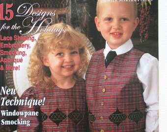 Sew Beautiful Magazine 2004 Issue 96 Martha Pullen Smocking Heirloom Sewing for Children Adults Patterns