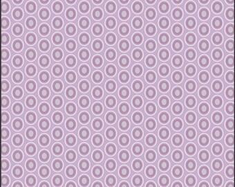 One Yard - 1 Yard of Oval Elements Amethyst - Art Gallery Fabrics