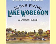 News from Lake Wobegon 4 audio cassettes by Garrison Keillor, Read by Garrison Keillor, Minnesota, audiobook, books on tape boxed set