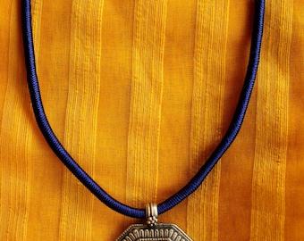 Silver Temple pendant