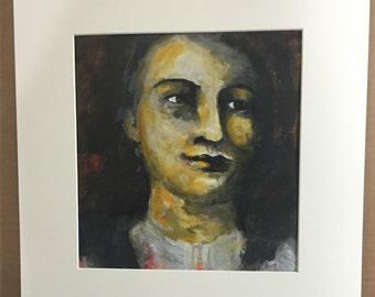 All New Mixed Media Painting - Luke