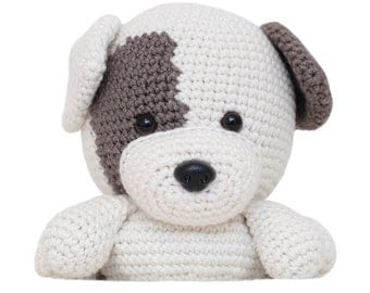 Patch the Dog Amigurumi Pattern