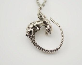 ALIEN Xenomorph Pup Necklace