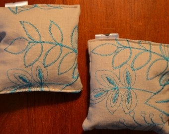 Lavender Filled Flower Pouch