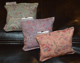 Paisley Printed Lavender Pouches (set of 3)