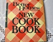 Better Homes Cookbook 1973 Hardback 3 Ring Vintage Used Book Craft Supplies Vintage Decor PanchosPorch