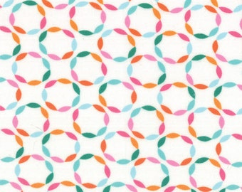 One Yard Daydreams - Full Circle in Stream - Cotton Quilt Fabric - designed by Kate Spain for Moda Fabrics - 27176-16 (W2784)