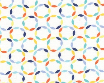 One Yard Daydreams - Full Circle in Yellow - Cotton Quilt Fabric - designed by Kate Spain for Moda Fabrics - 27176-12 (W2786)