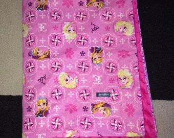 Clearance--XL Frozen Minky Blanket