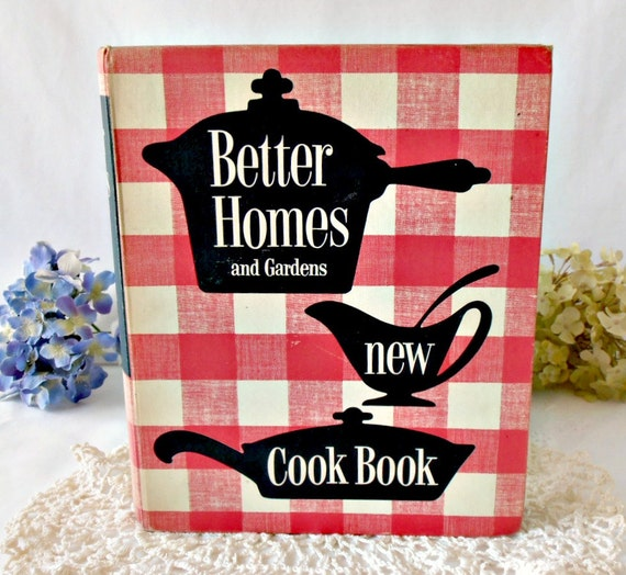 Better Homes Gardens New Cookbook Red Checkered Cover Read PDF