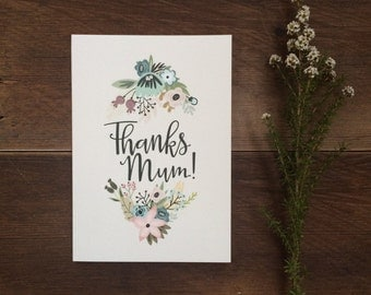 Mothers Day Thank You card