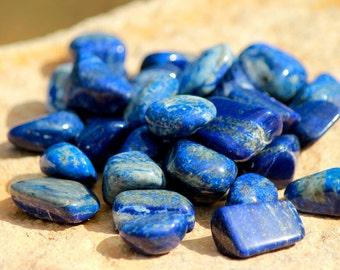 Lapis Lazuli - Tumbled Gemstone Crystal