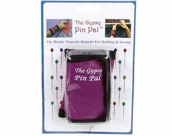 Gypsy Quilter Pin Pal - magnetic wrist bracelet - TGQ010 - Purple