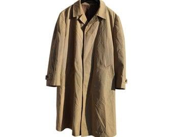 Vintage Mantex special made by Regent Herremagasin beige coat jacket man