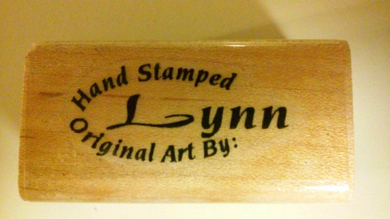 Basket Weaving Osi : Hand stamped original art by lynn stamp from