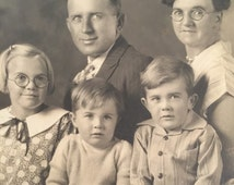 Old family photo circa 1920's, taken in San Diego, California. Great vintage ephemera.