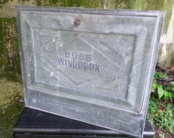 Boss Windobox Antique Ice Box Cooler Window Refrigerator