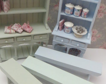 A wooden Bench for the dollhouse