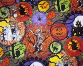By the Half Yard! Halloween Trick or Treat Hallowgraphix Brights from In the Beginning Fabrics Jason Yenter