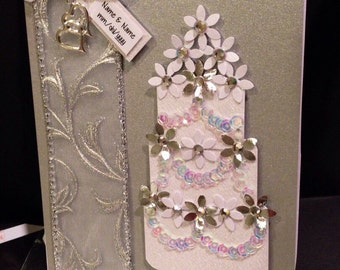 Handmade Personalizable Wedding Card