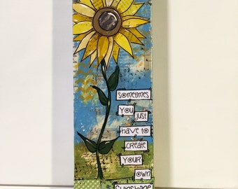 Rustic Sunflower Art | Sunflower Decor