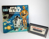 Star Wars Book and Cassette, 1979 Book On Tape