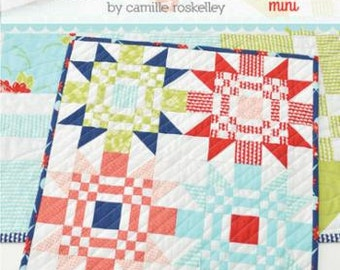 Thimble Blossoms RED LETTER DAY Mini Quilt Pattern From Camille Roskelley Moda Bonnie and Camille
