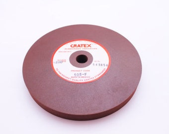 Cratex RubberWheel Fine Grit Jewelry Cleaning Polishing Smoothing Tool WA 416-032