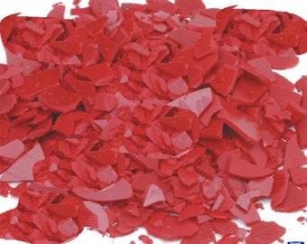 Kerr Ruby Red Flake Injection Wax Pkg Of 1 Lb Jewelry Lost Wax Casting WA 365-202
