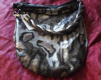 Lowered Price NWT  Camouflage Whiting and Davis Purse