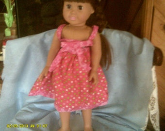 18 in  doll summer dress