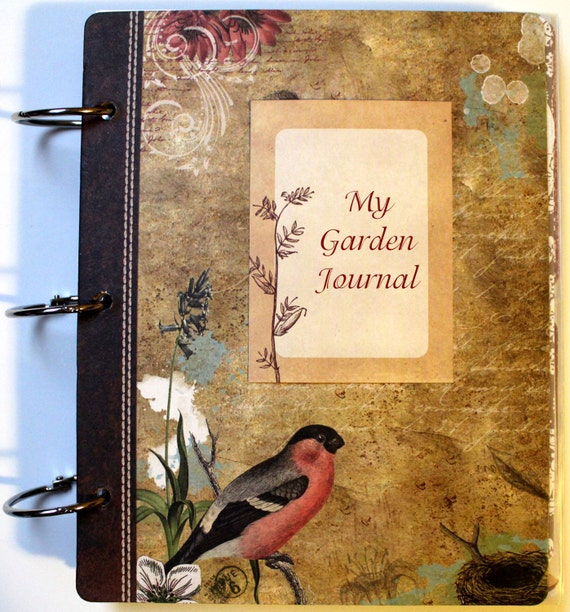 Garden Journal Planner Organizer To Do List Diary by