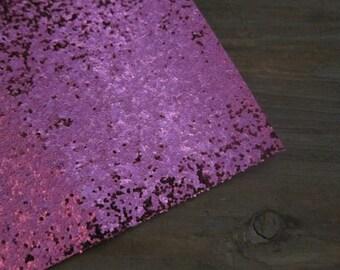 Glitter Material Hot Pink 8X10 sheet