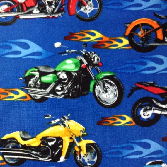 One half yard of fabric material monster trucks by for Monster truck fabric